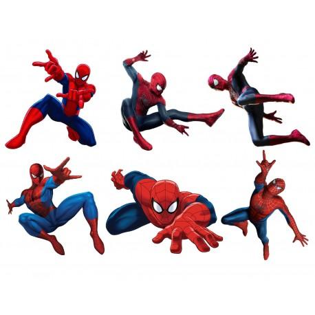 Stickers enfant planche de stickers Spiderman ref 15128
