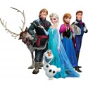 Stickers Frozen Elsa la reine des neiges réf 15129