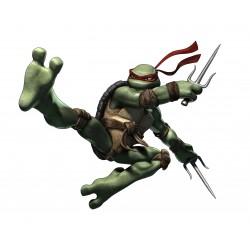 sticker Autocollant enfant Tortue Ninja Raphael 15133