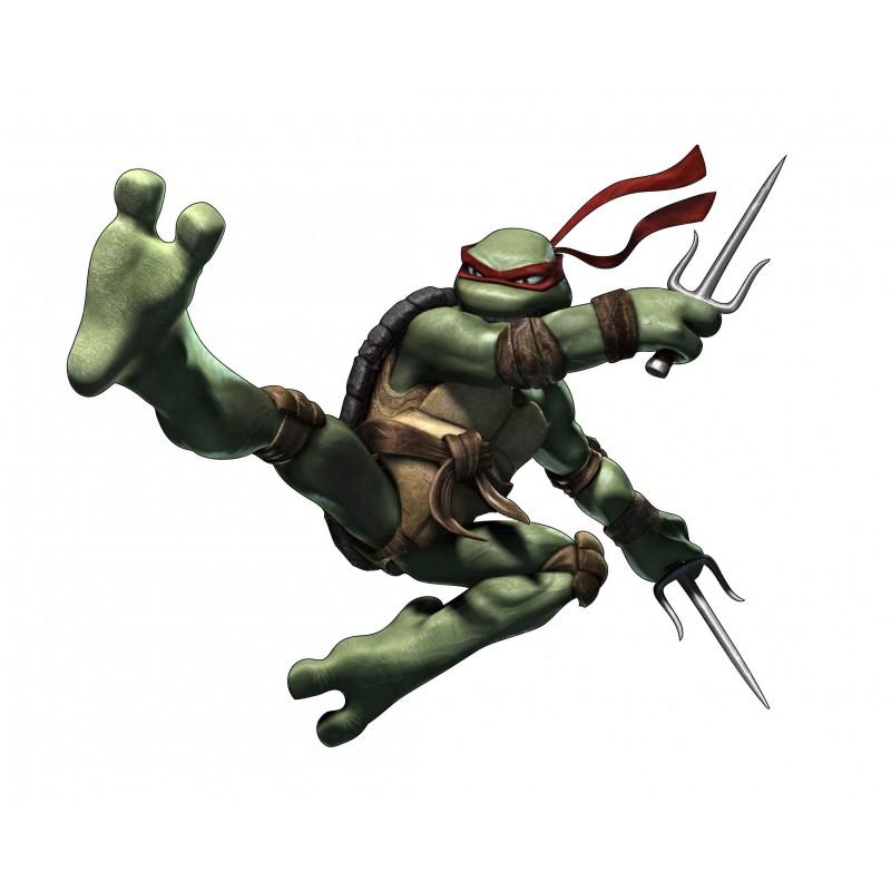 Sticker autocollant enfant tortue ninja raphael 15133 - Tortue ninja raphael ...