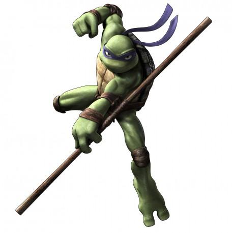 Sticker enfant Tortue Nija Donatello réf 15134