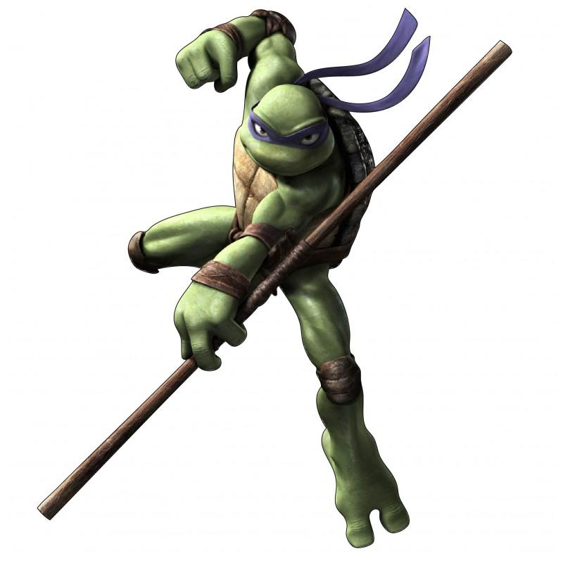 Sticker enfant tortue ninja donatello r f 15134 stickers - Mechant tortue ninja ...