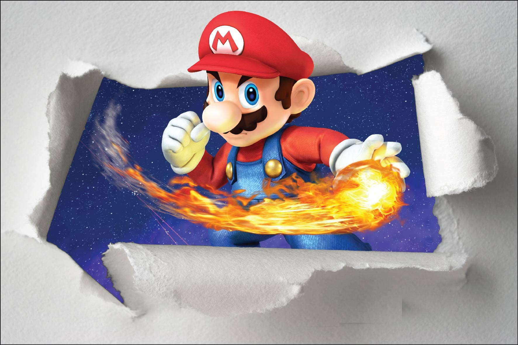 Stickers Mario Kart 6224 Stickers Muraux Enfant