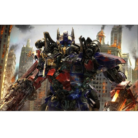 Sticker Autocollant Transformers réf 15150