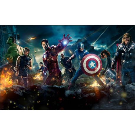 Sticker Autocollant Avengers réf 15153