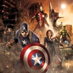 Stickers enfant géant Avengers 15165