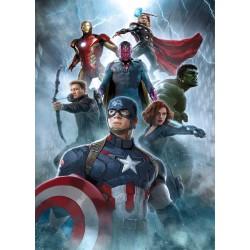 Stickers enfant géant Avengers 15170
