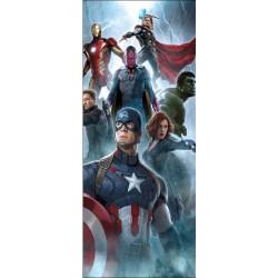 Stickers porte Avengers réf 15175