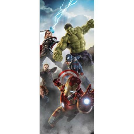 Stickers porte Avengers réf 15177