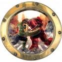 Sticker hublot enfant Avengers 9567