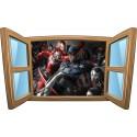 Sticker enfant fenêtre Avengers réf 1073