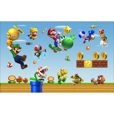 Stickers Autocollant Mario réf 15181