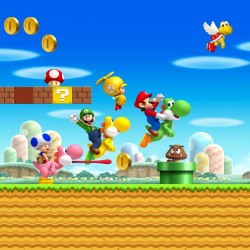 Stickers enfant géant Mario 15194