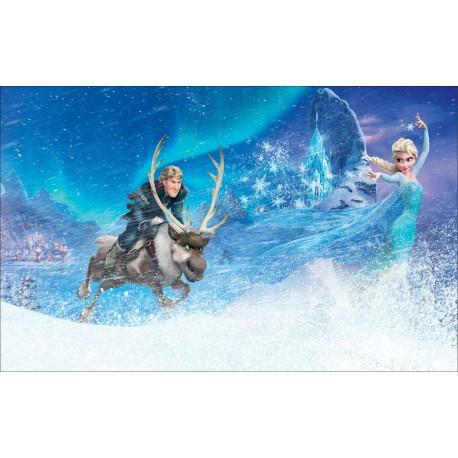 stickers autocollant frozen la reine des neiges r f 15195 stickers muraux enfant. Black Bedroom Furniture Sets. Home Design Ideas