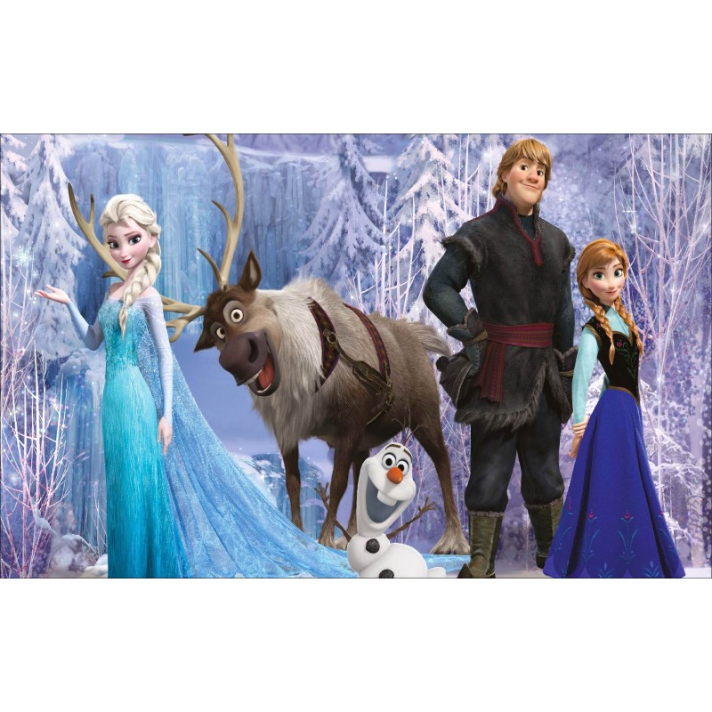 stickers autocollant frozen la reine des neiges r f 15197 stickers muraux enfant. Black Bedroom Furniture Sets. Home Design Ideas
