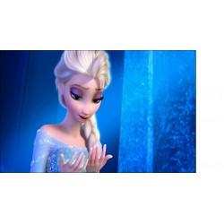 Stickers Autocollant Frozen La reine des neiges réf 15198