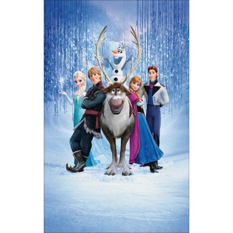 Stickers Autocollant Frozen La reine des neiges réf 15203