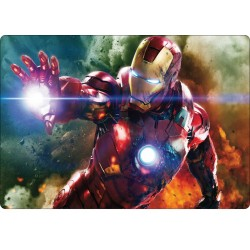 Stickers PC ordinateur portable Avengers Iron Man réf 16217