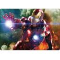 Stickers PC ordinateur portable Avengers Iron Man réf 16217