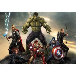 Stickers PC ordinateur portable Avengers réf 16219