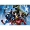 Stickers PC ordinateur portable Avengers réf 16220