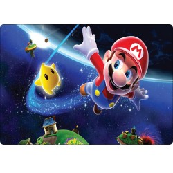 Stickers PC ordinateur portable Mario réf 16224