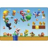 Stickers PC ordinateur portable Mario réf 16225