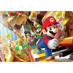 Stickers PC ordinateur portable Mario réf 16226