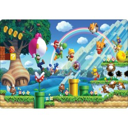 Stickers PC ordinateur portable Mario réf 16227