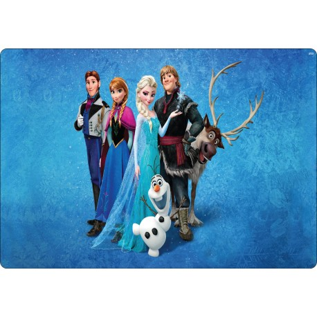 Stickers PC ordinateur portable La reine des neiges réf 16230