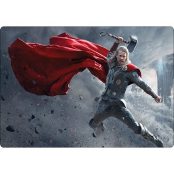 Stickers PC ordinateur portable Thor Avengers réf 16242