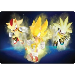 Stickers PC ordinateur portable Sonic réf 16244