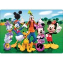 Stickers PC ordinateur portable Mickey et sa bande réf 16261