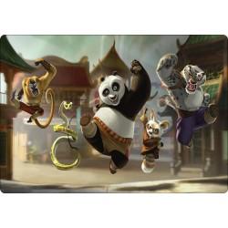 Stickers PC ordinateur portable Kun Fu Panda réf 16268