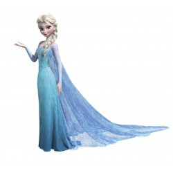 Stickers Frozen Elsa la reine des neiges