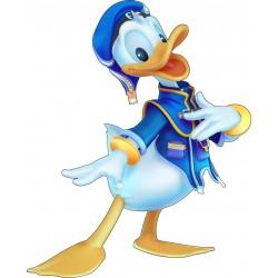 Stickers enfant Disney Donald réf 15204