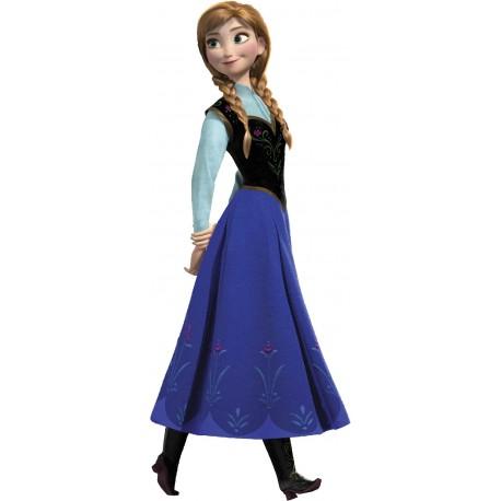 Stickers Autocollant enfant Frozen Anna la reine des neiges 15205