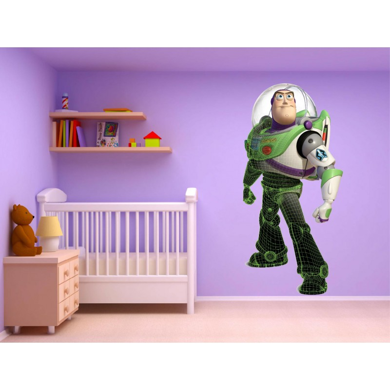 stickers muraux enfant autocollant toy story 15216. Black Bedroom Furniture Sets. Home Design Ideas