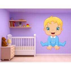 Stickers muraux enfant autocollant Bébé15224