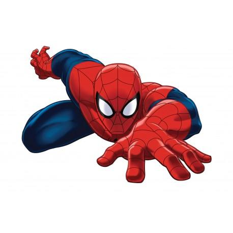Stickers Spiderman 40x30 cm réf 16111