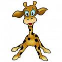 Sticker enfant Girafe-L 20x30cm