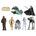 Stickers enfant planche de stickers Star wars