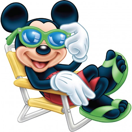 Stickers Mickey relax réf 17555