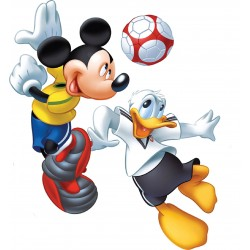 Stickers Mickey Donald