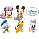 Stickers autocollant Mickey Minnie Pluto Donald Daisy 17557