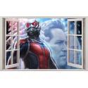 Stickers fenêtre Ant Man réf 11121