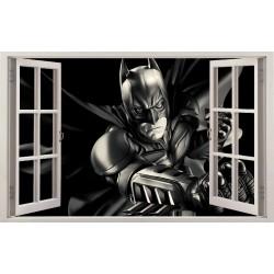Stickers fenêtre Batman réf 11125