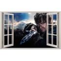 Stickers fenêtre The Hobbit réf 11127