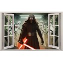 Stickers fenêtre Dark Vador Star Wars réf 11143