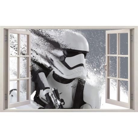 Stickers fenêtre Star Wars réf 11153